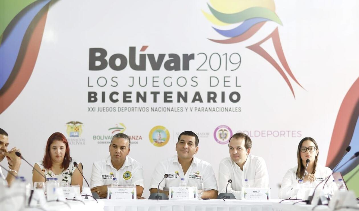 El director de Coldeportes, Ernesto Lucena, garantizó los recursos para las justas deportivas.