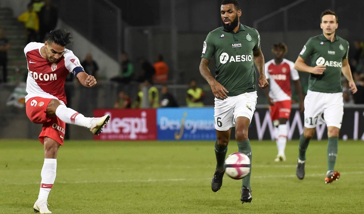 Saint Etienne vs AS Mónaco