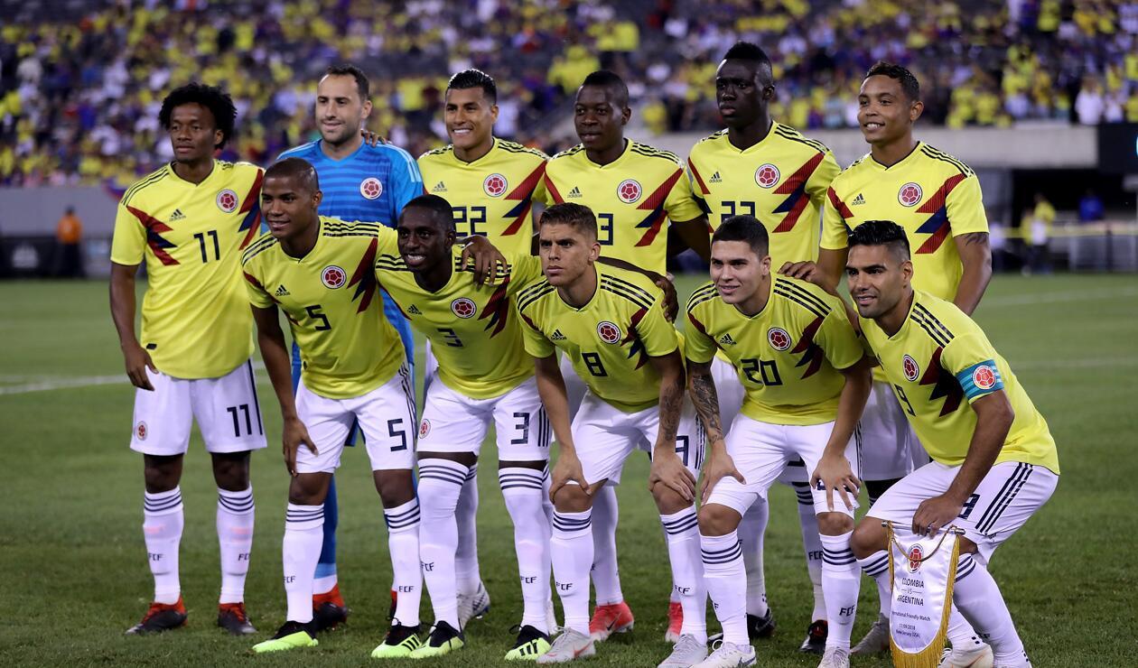 Selección Colombia vs Argentina