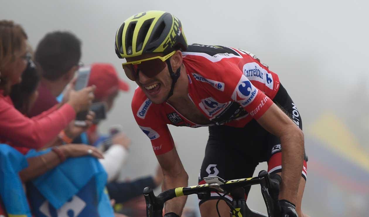 Simon Yates se mantiene líder de la Vuelta a España en la edición 2018