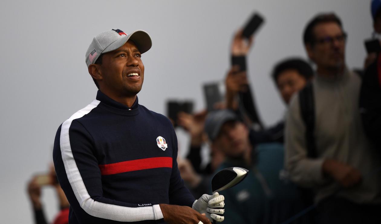 Tiger Woods, representante de Estados Unidos
