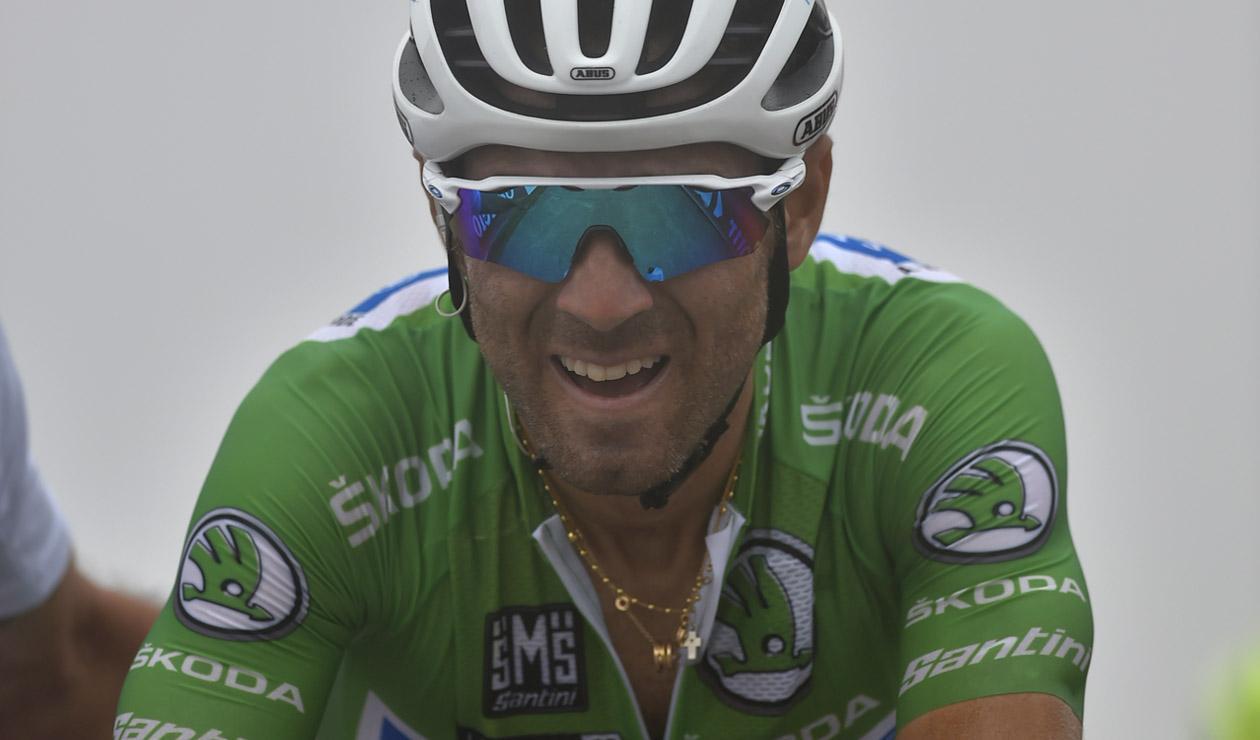 Alejandro Valverde, ciclista español del Movistar Team