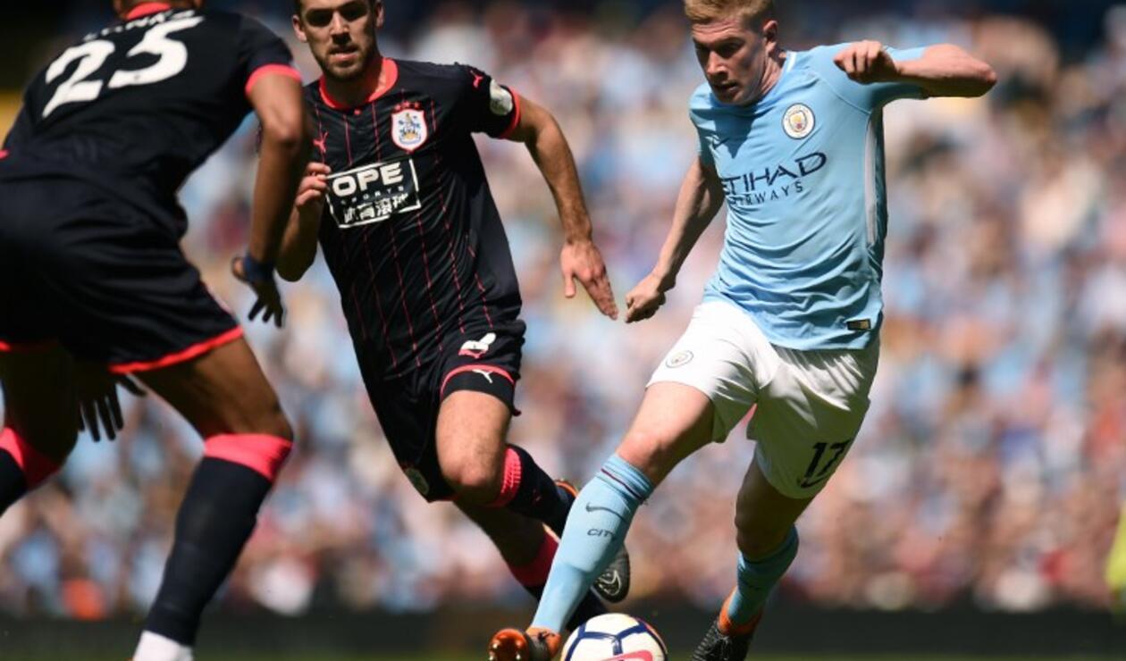 Kevin De Bruyne, jugador del Manchester City