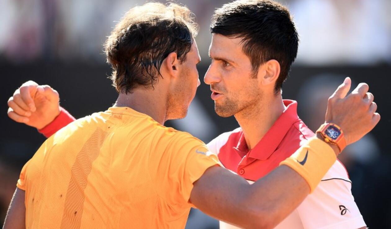 Rafael Nadal y Novak Djokovic dudan de jugar el partido de exhibición en Arabia
