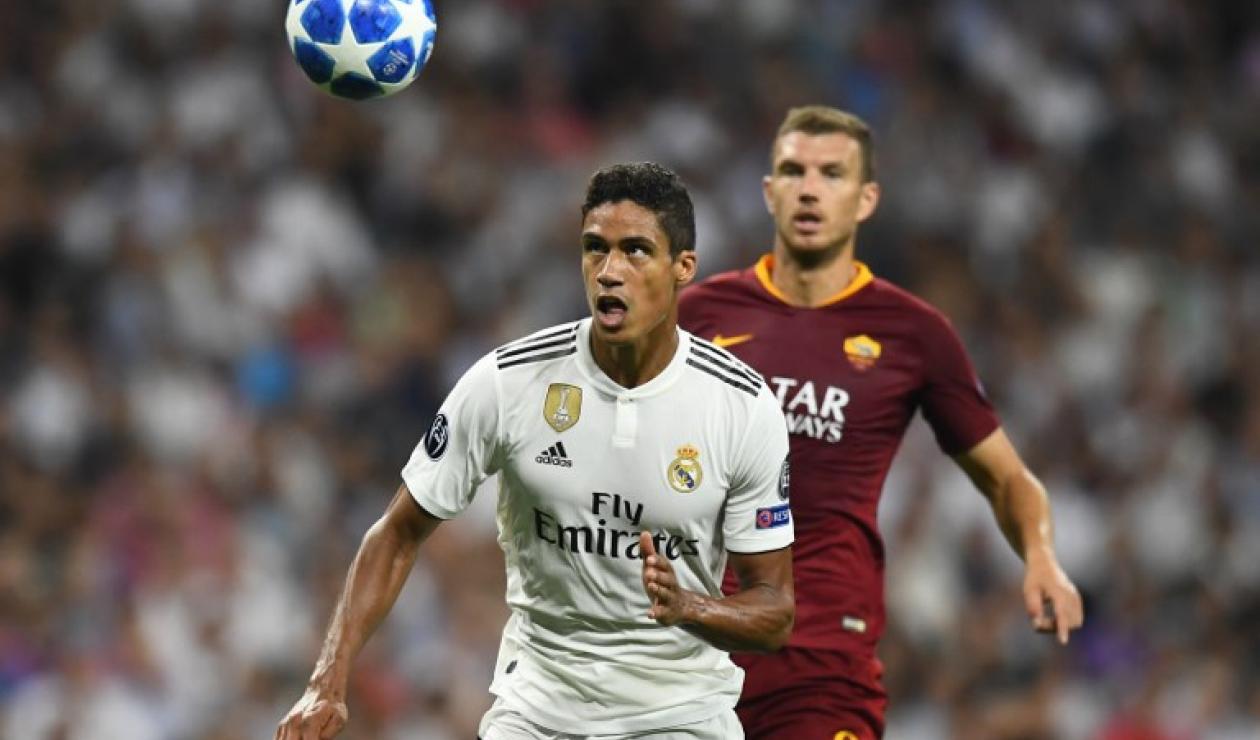 Raphael Varane, jugador del Real Madrid