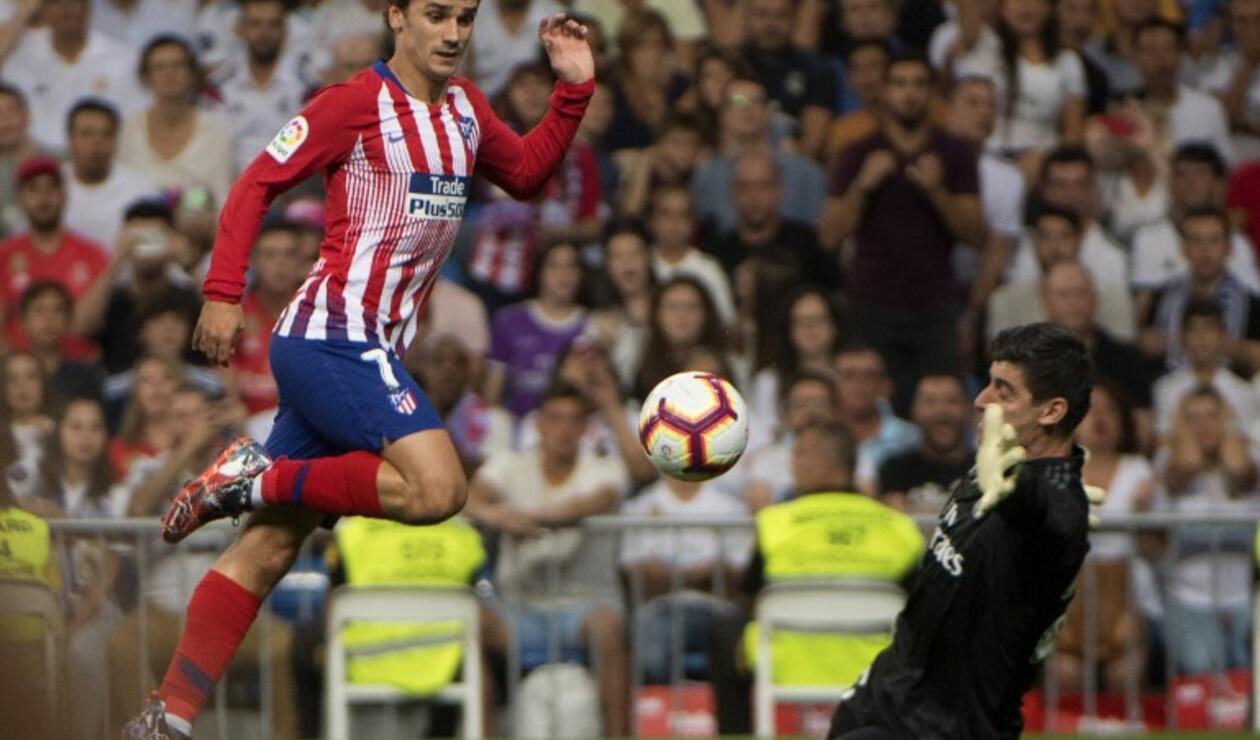 Antoine Griezmann, jugador del Atlético de Madrid