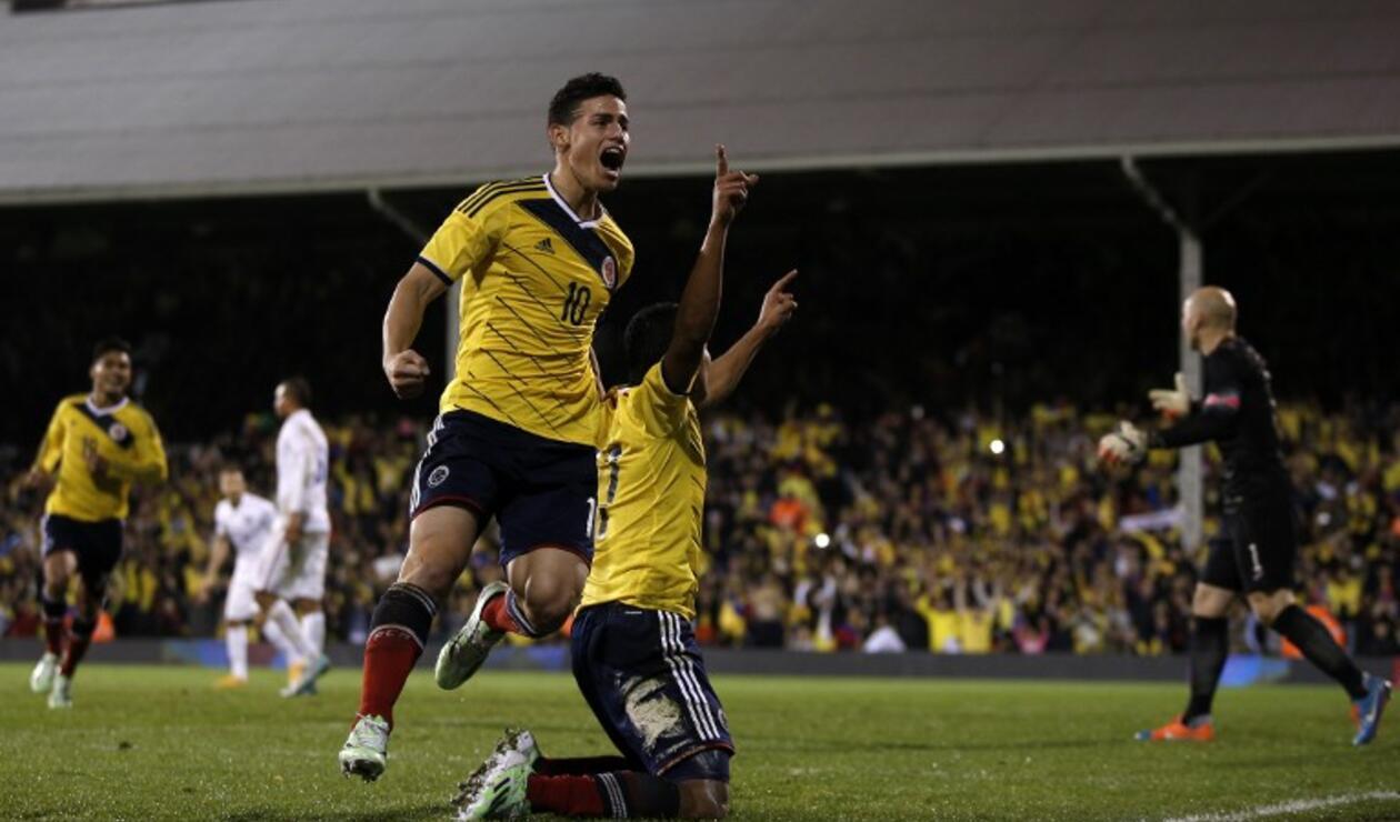 Colombia vs Estados Unidos partido amistoso