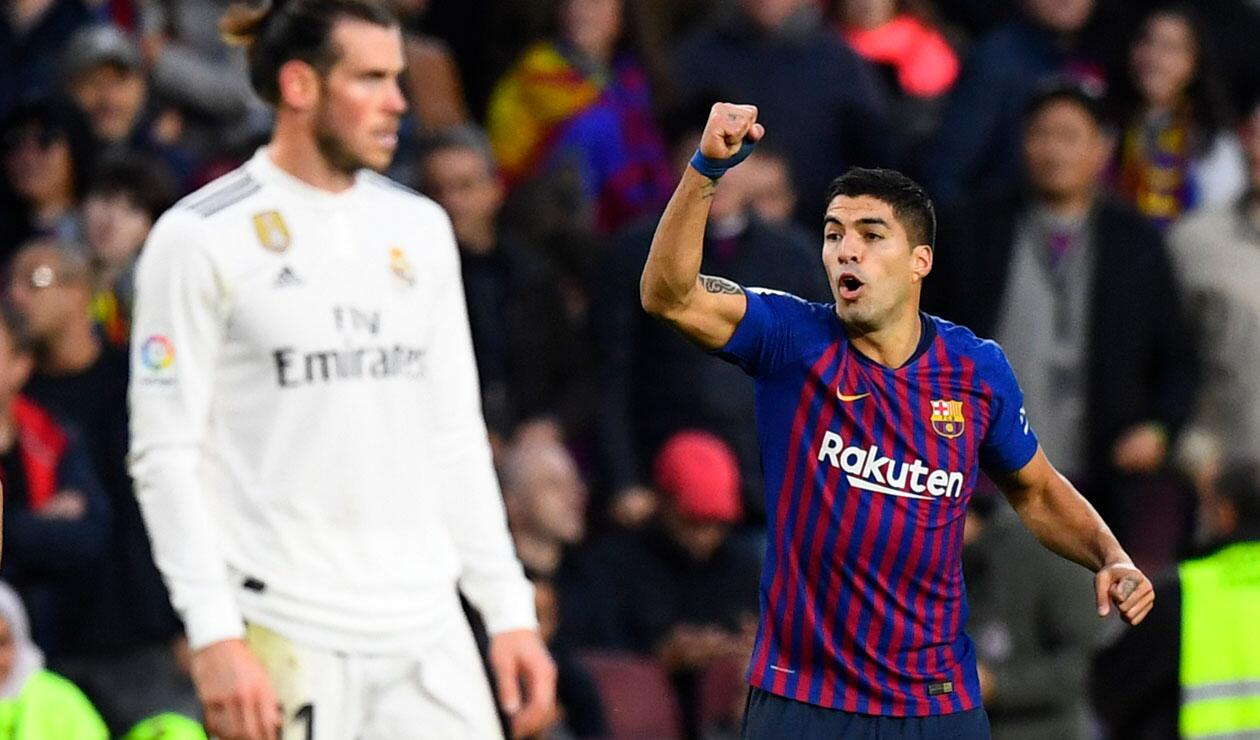 Luis Suárez, la gran figura del clásico Barcelona-Real Madrid en el Camp Nou