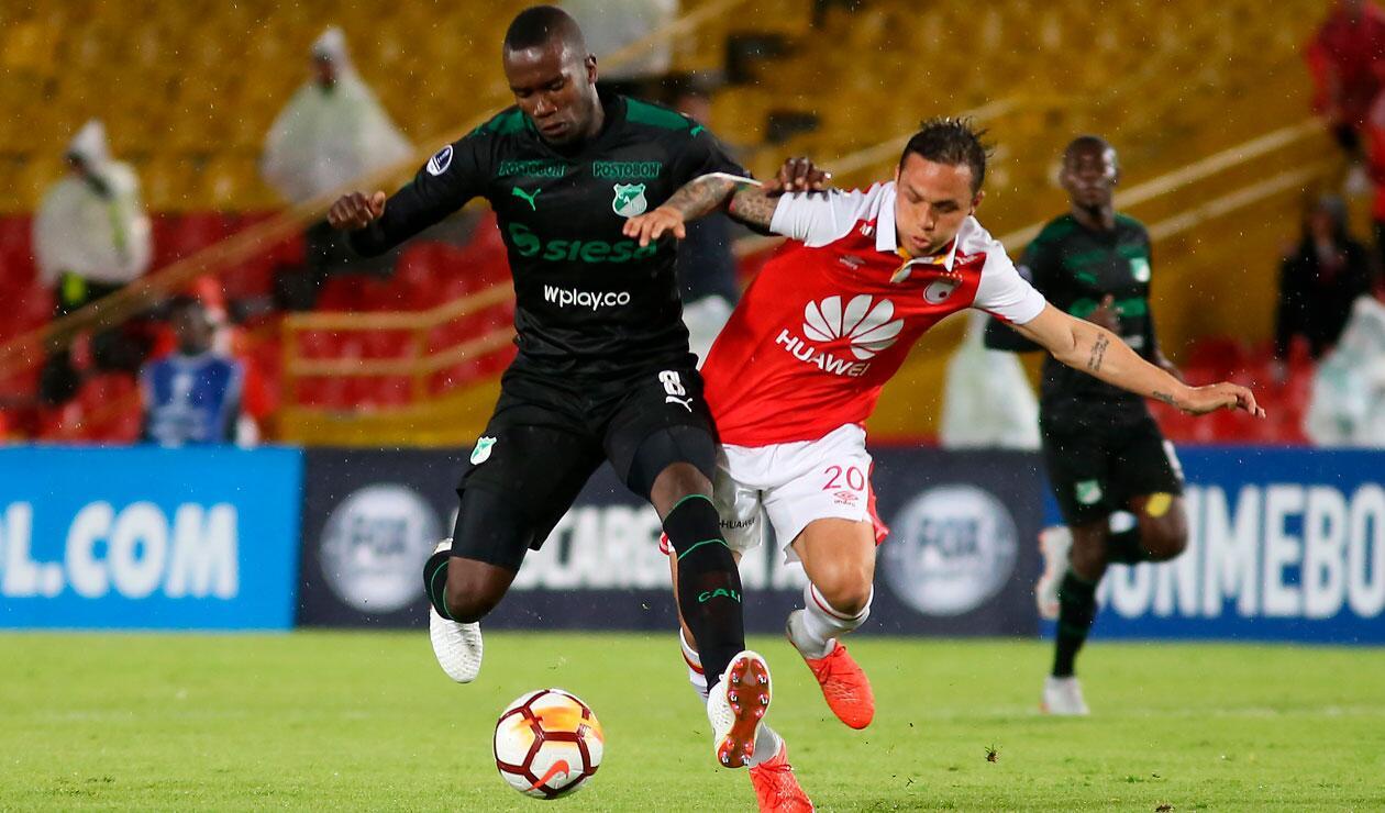 Independiente Santa Fe y Deportivo Cali venían de perder en la Liga Águila