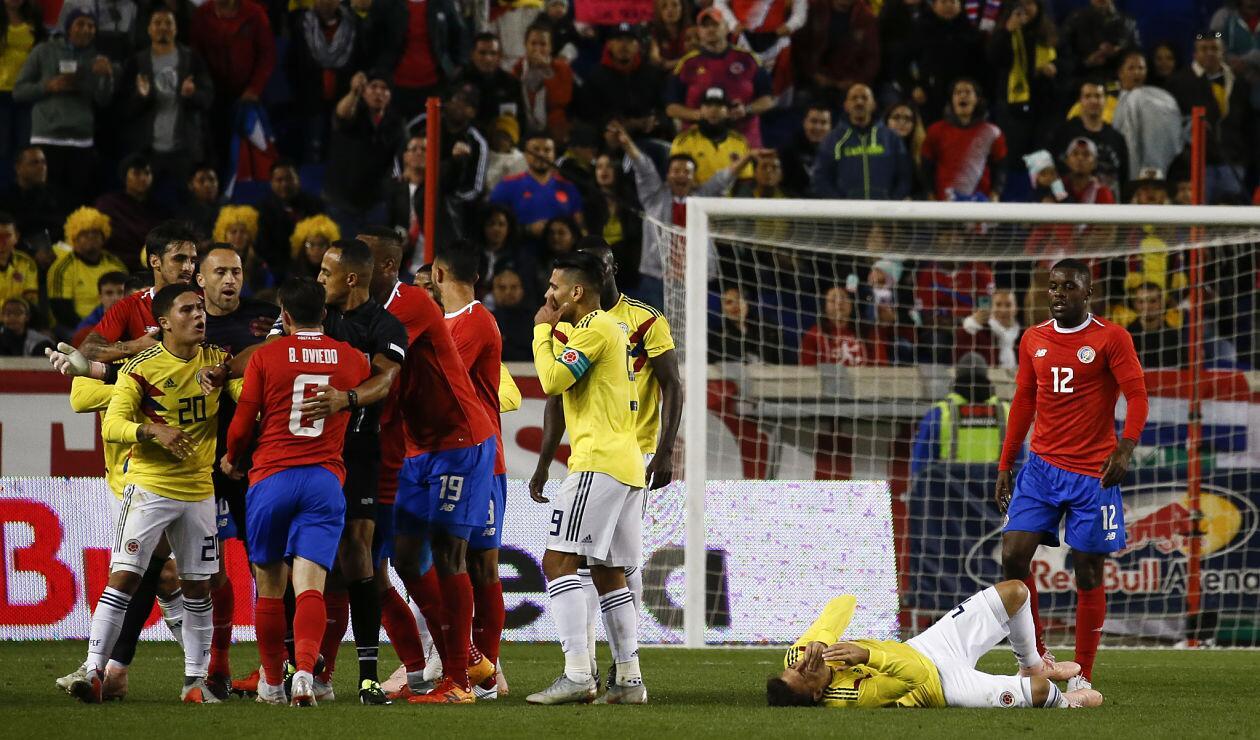 Colombia ganó su tercer partido en la era de Arturo Reyes