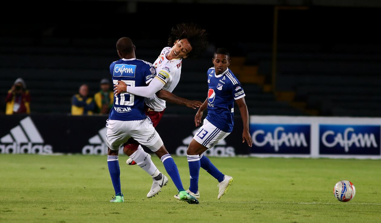 Millonarios Vs. Deportes Tolima