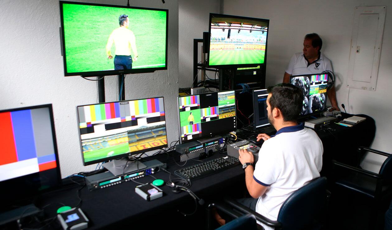 La Conmebol hizo la presentación del VAR antes del partido Santa Fe Vs Deportivo Cali