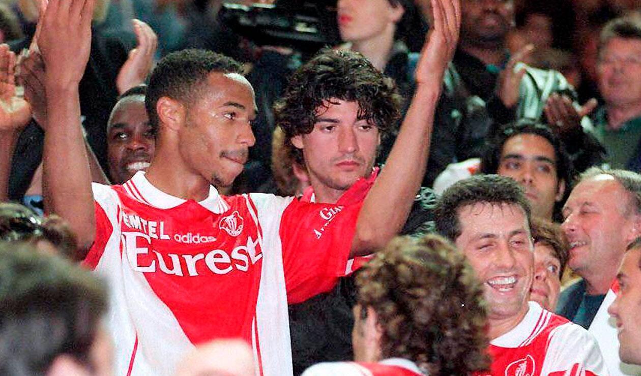 Thierry Henry podrá trasladar toda su experiencia a un Mónaco podrá hacer mejorar a otro gran delantero, el colombiano Radamel Falcao