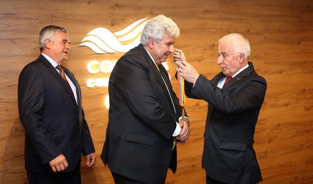 Ciro Solano, Fernando Molina y Baltazar Medina