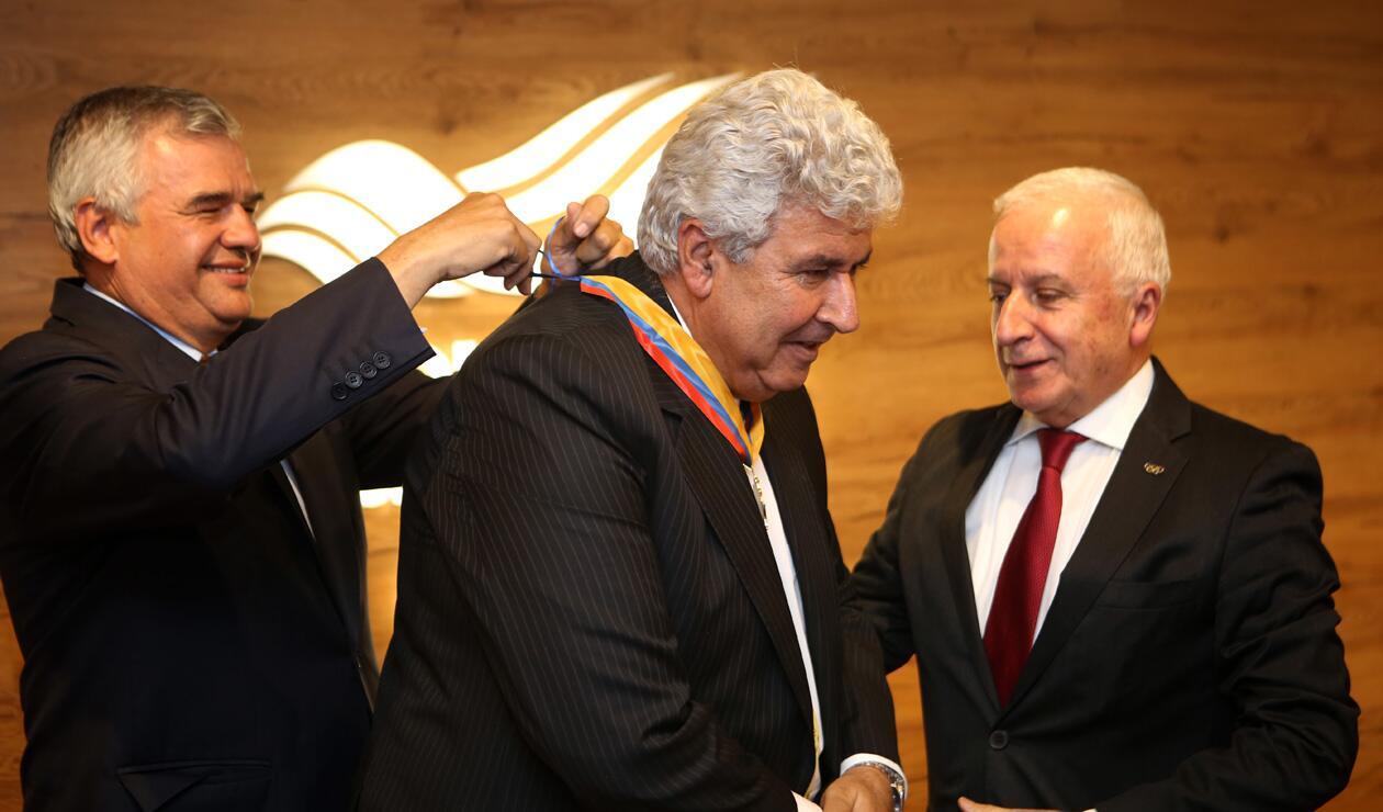 Ciro Solano, Fernando Molina Soto y Baltazar Medina