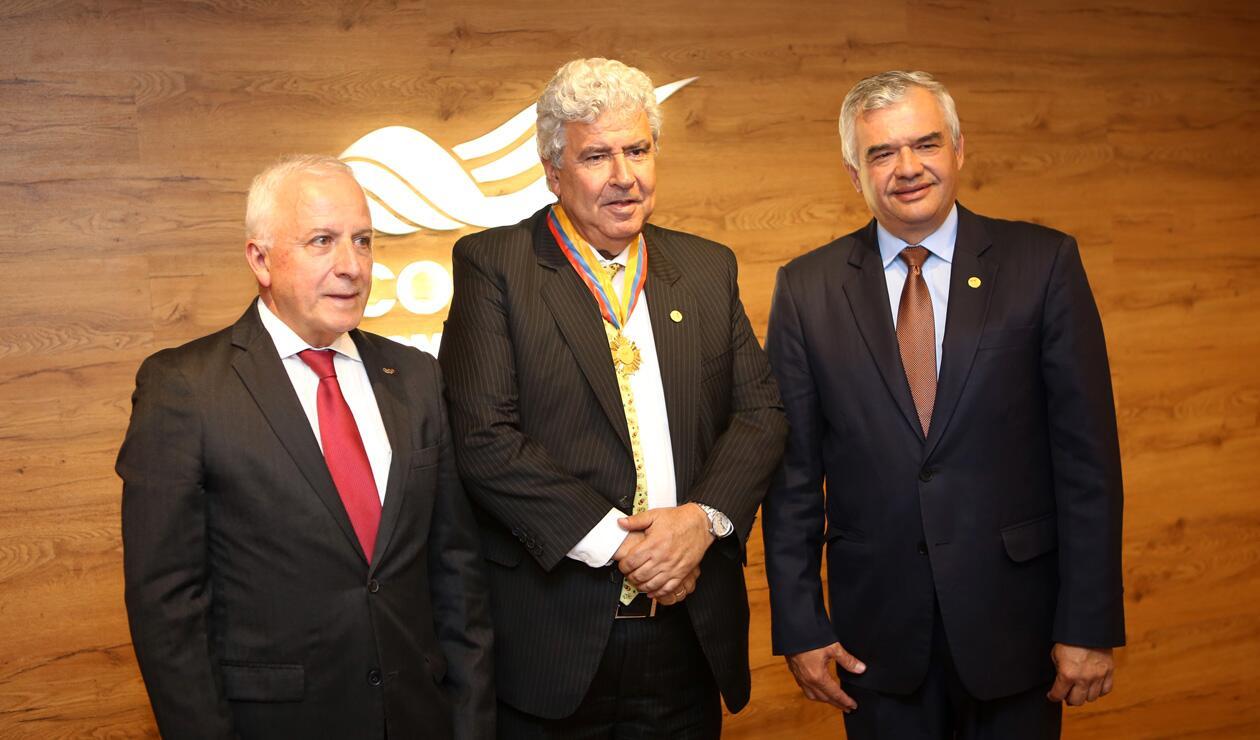 Baltazar Medina, Fernando Molina Soto y Ciro Solano