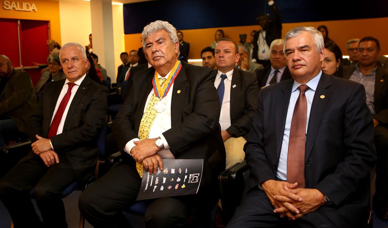 Baltazar Medina, Fernando Molina y Ciro Solano