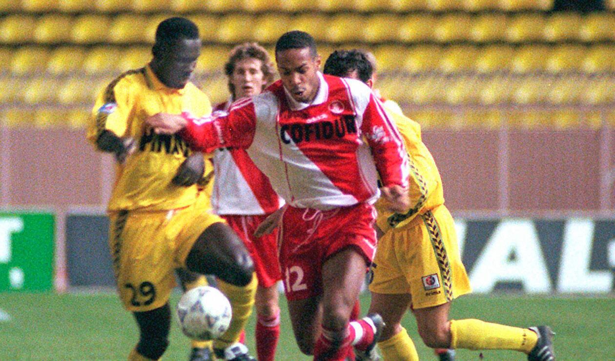 Thierry Henry ganó importantes títulos en el Mónaco, Arsenal y en el Barcelona