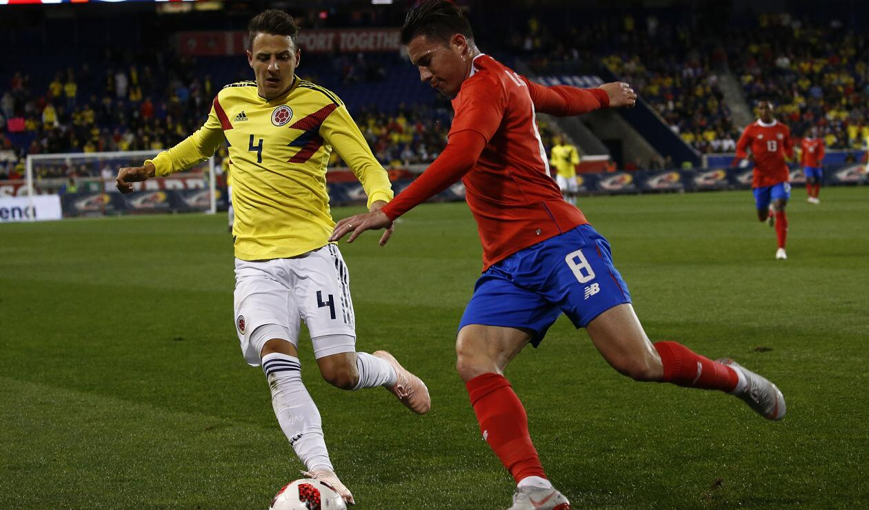 Santiago Arias fue, nuevamente, uno de los jugadores destacados de Colombia