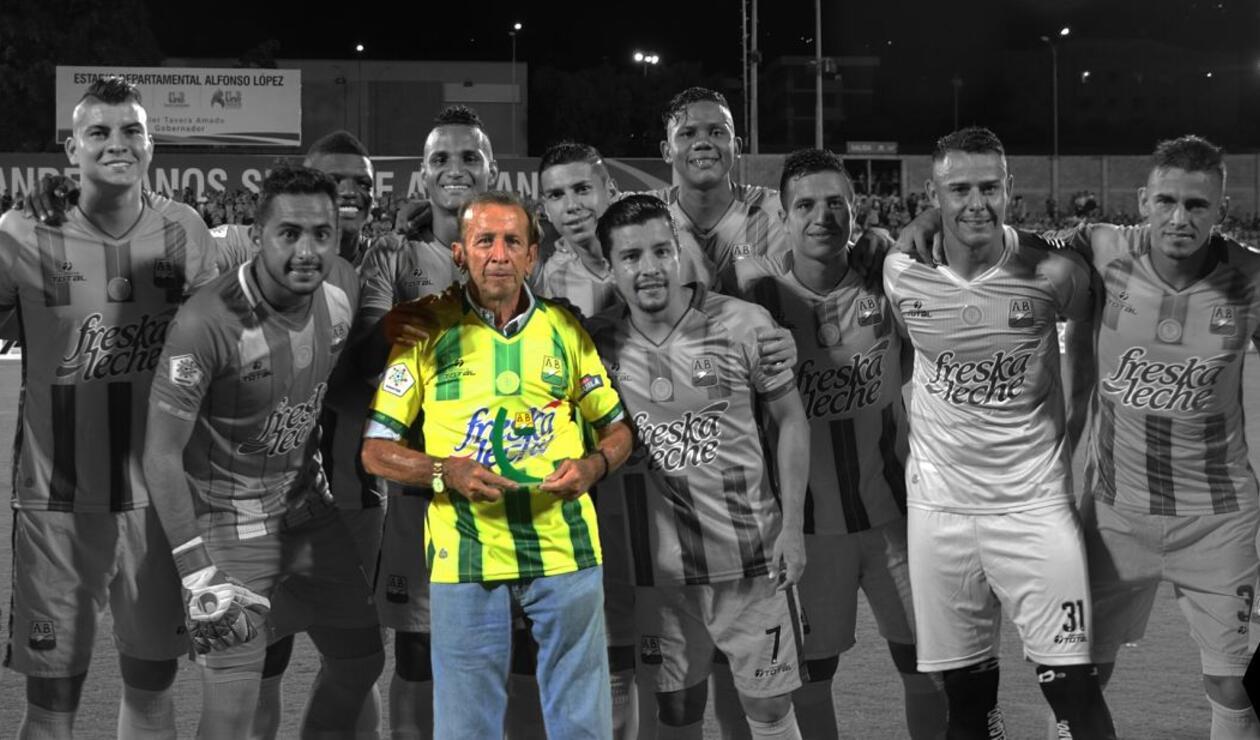 Germán 'Cuca' Aceros, ídolo del Atlético Bucaramanga y de la Selección Colombia
