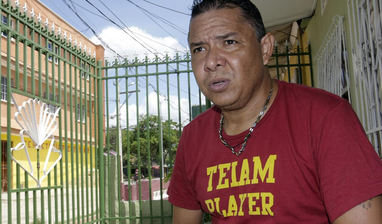 Iván René Valencia, exdelantero del Junior de Barranquilla