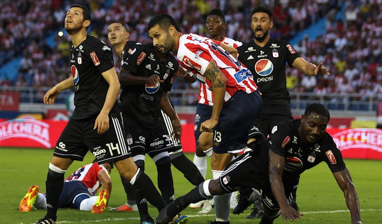 Junior de Barranquilla vs América de Cali - Liga Águila 2018