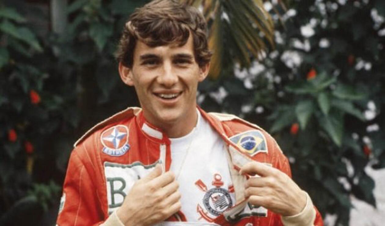 Corinthians en homenaje a Ayrton Senna