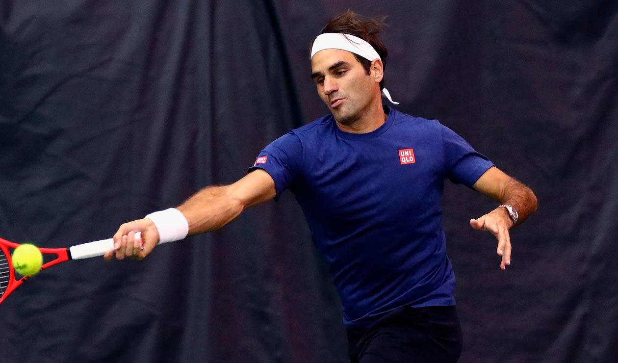 Roger Federer ahora es vestido por la marca japonesa Uniqlo