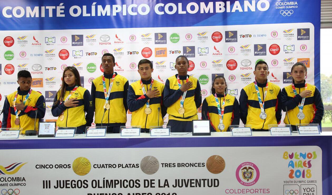Medallistas Olímpicos Juveniles