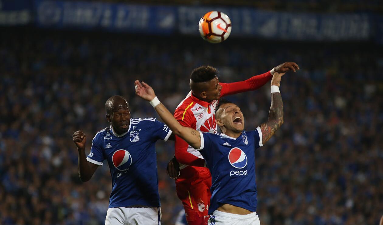 Santa Fe venía de quedar eliminado en los cuartos de final de la Copa Águila · Copa Sudamericana 2018