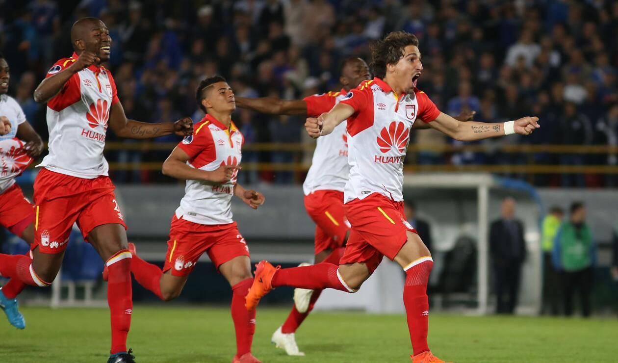 Santa Fe enfrentará al Cali en cuartos de final de la Sudamericana