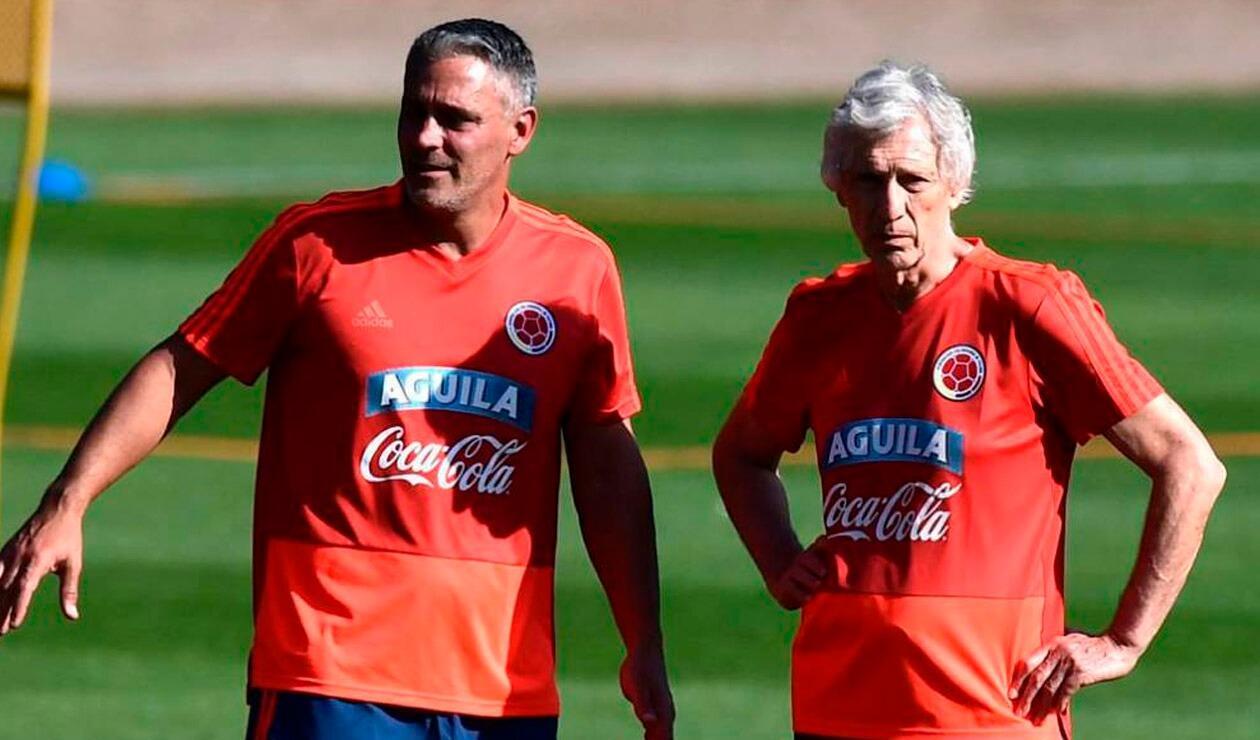 José Pékerman y Patricio Camps