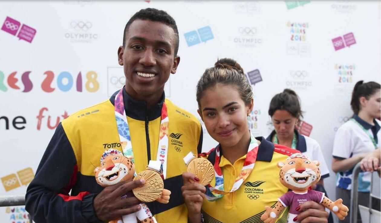 Jhonny Angulo y Gabriela Rueda