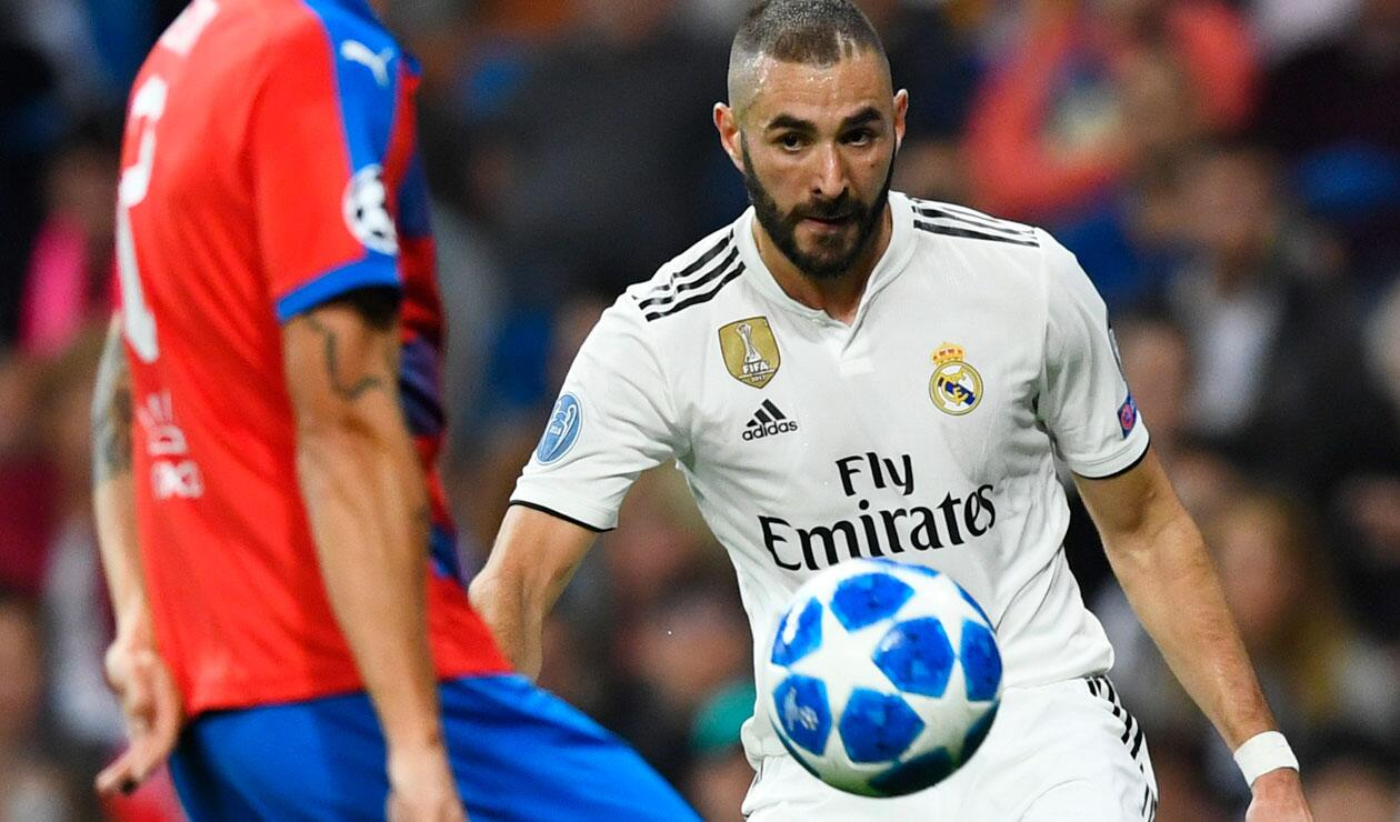 Real Madrid sufrió frente al Victoria Pilzen en el Santiago Bernabéu
