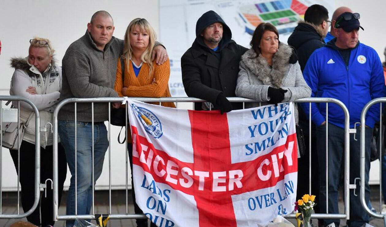 Hinchas del Leicester