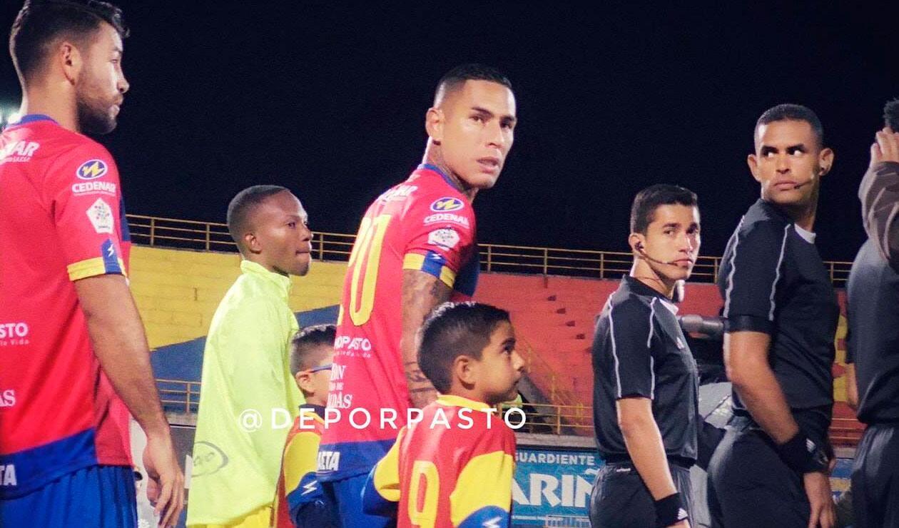 Gilberto 'Alcatraz' García, jugador que se encuentra cedido en el Deportivo Pasto