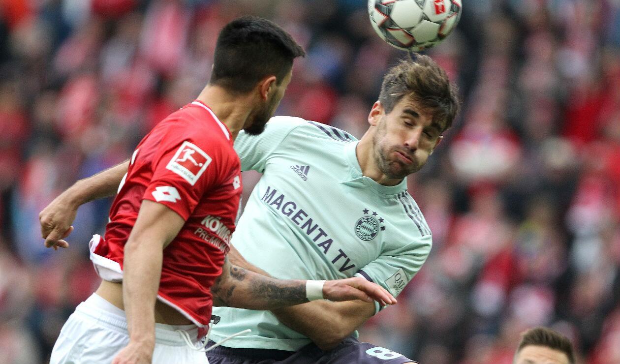Bayern Múnich derrotó al Mainz