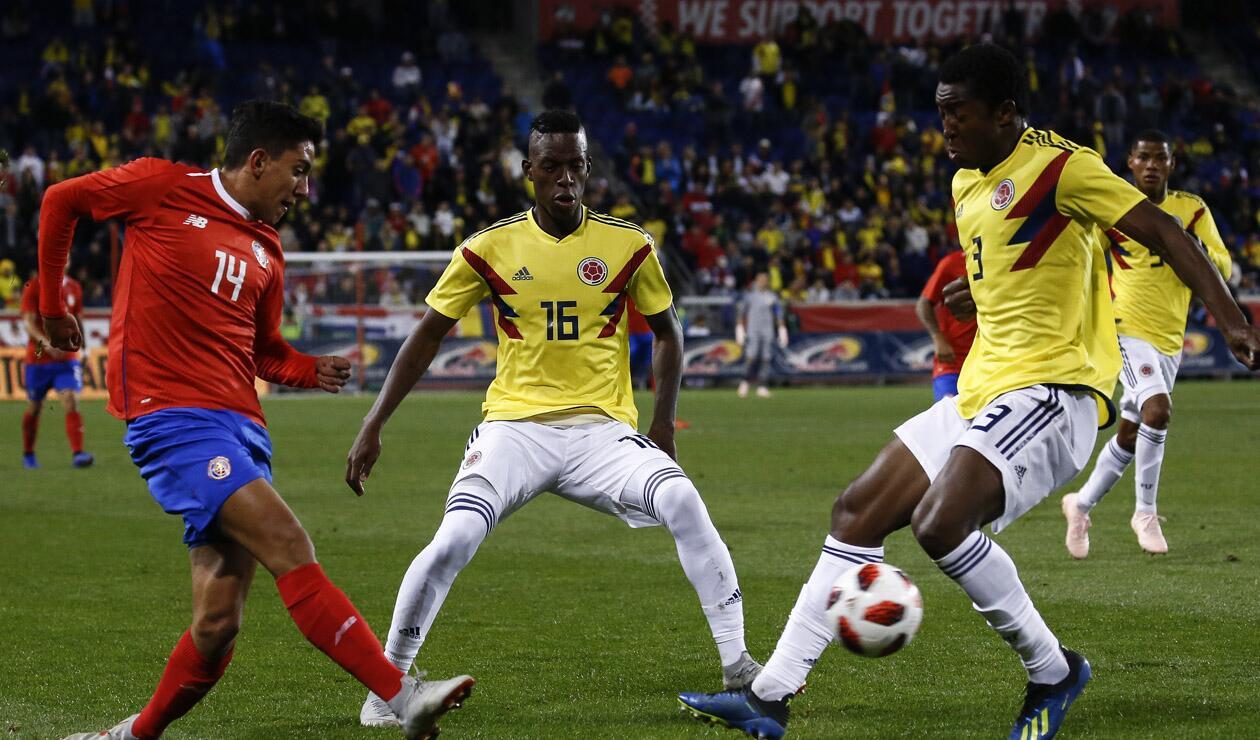 Selección Colombia vs Costa Rica