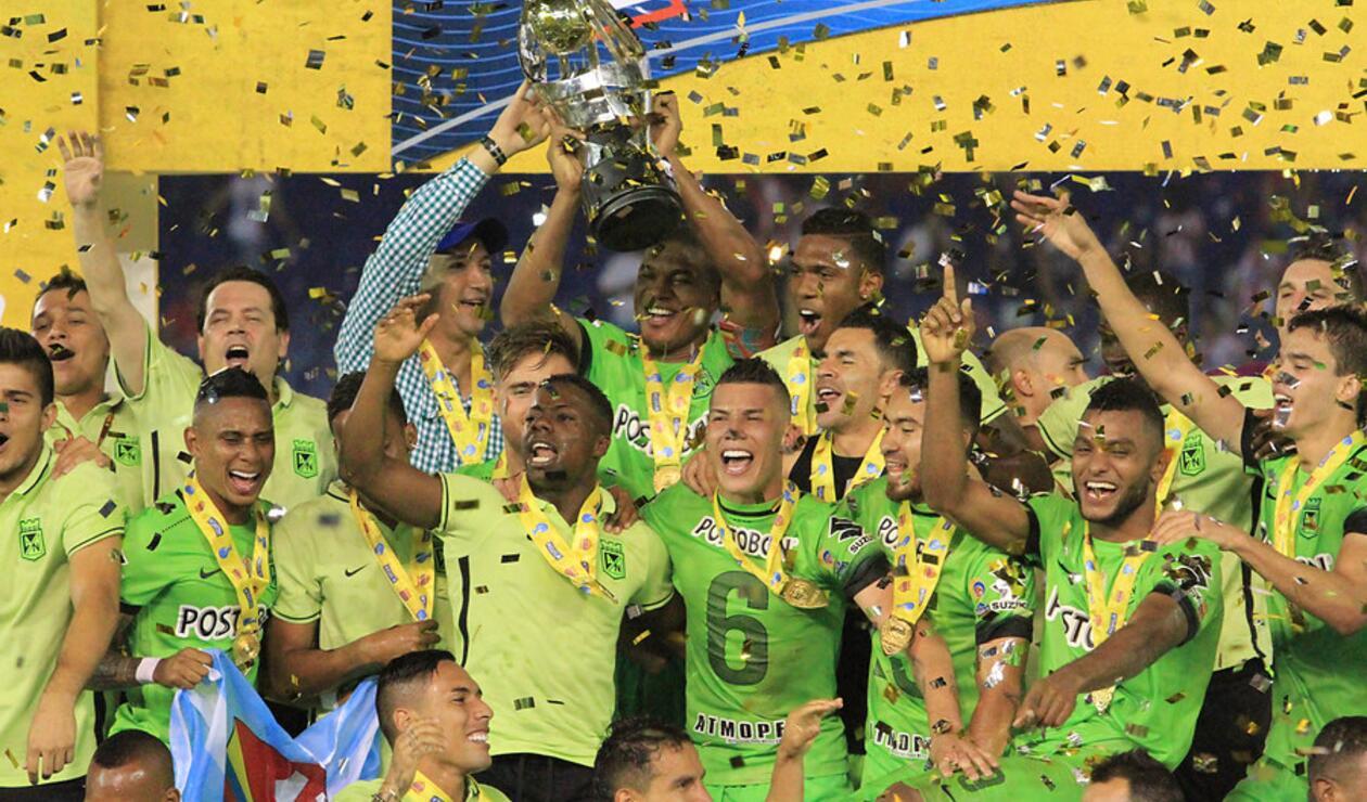 Atlético Nacional en la Copa Águila 2016