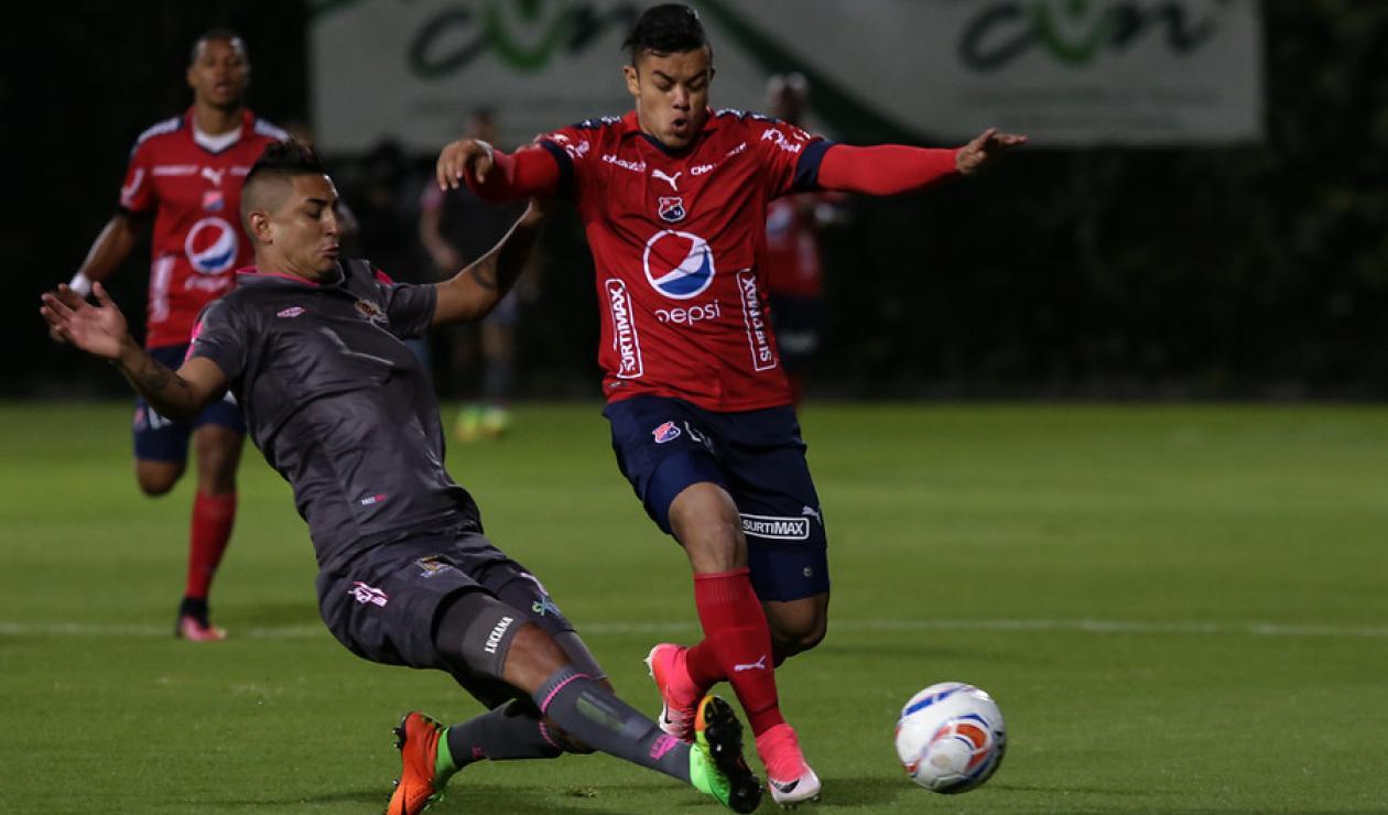 Leonardo Castro, jugador del Medellín