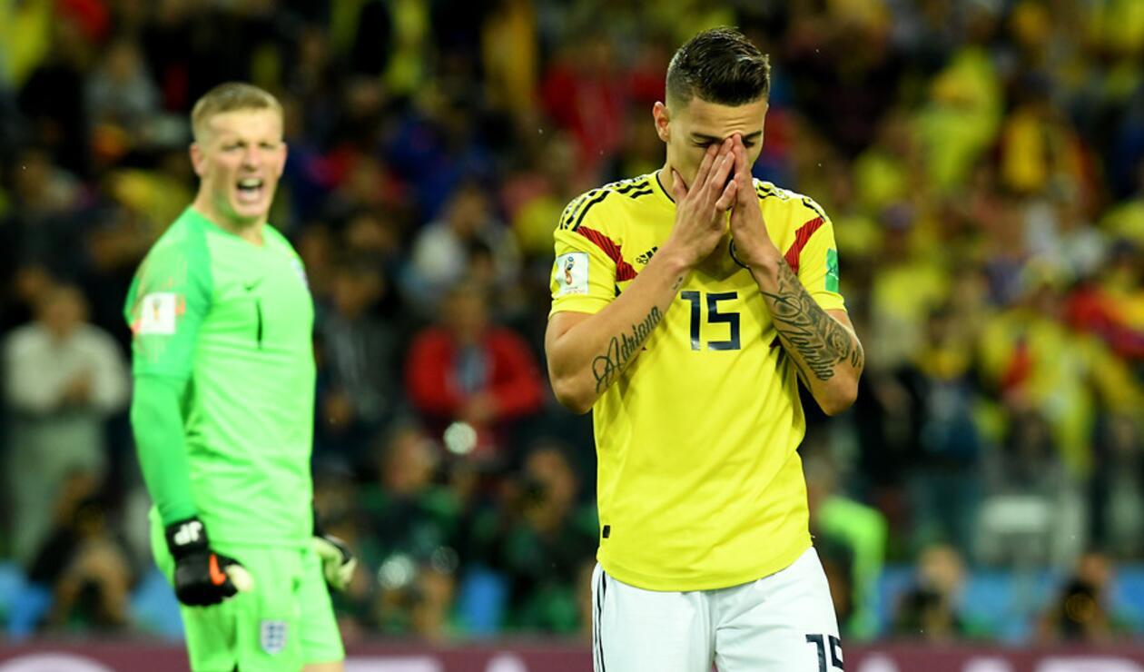 Mateus Uribe con la Selección Colombia