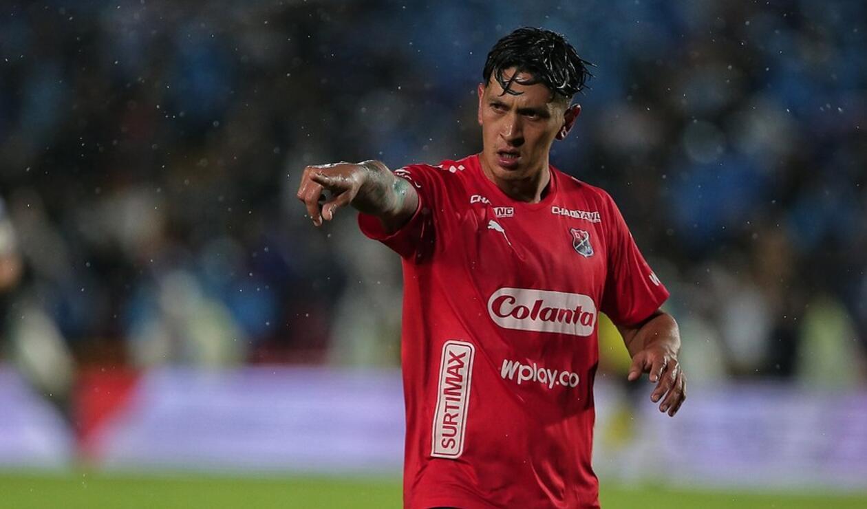 Germán Ezequiel Cano, jugador del Medellín