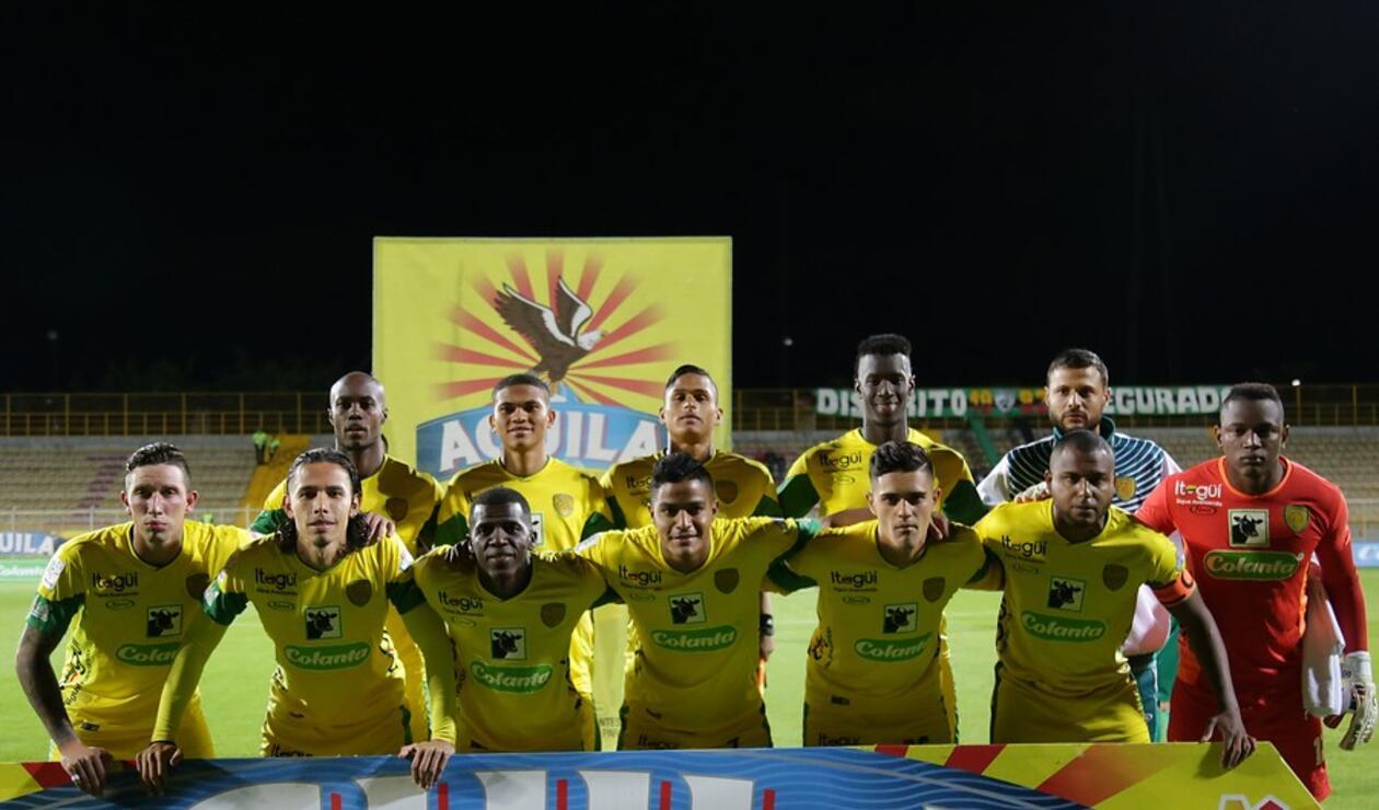 Leones de Itagüí en la Liga Águila