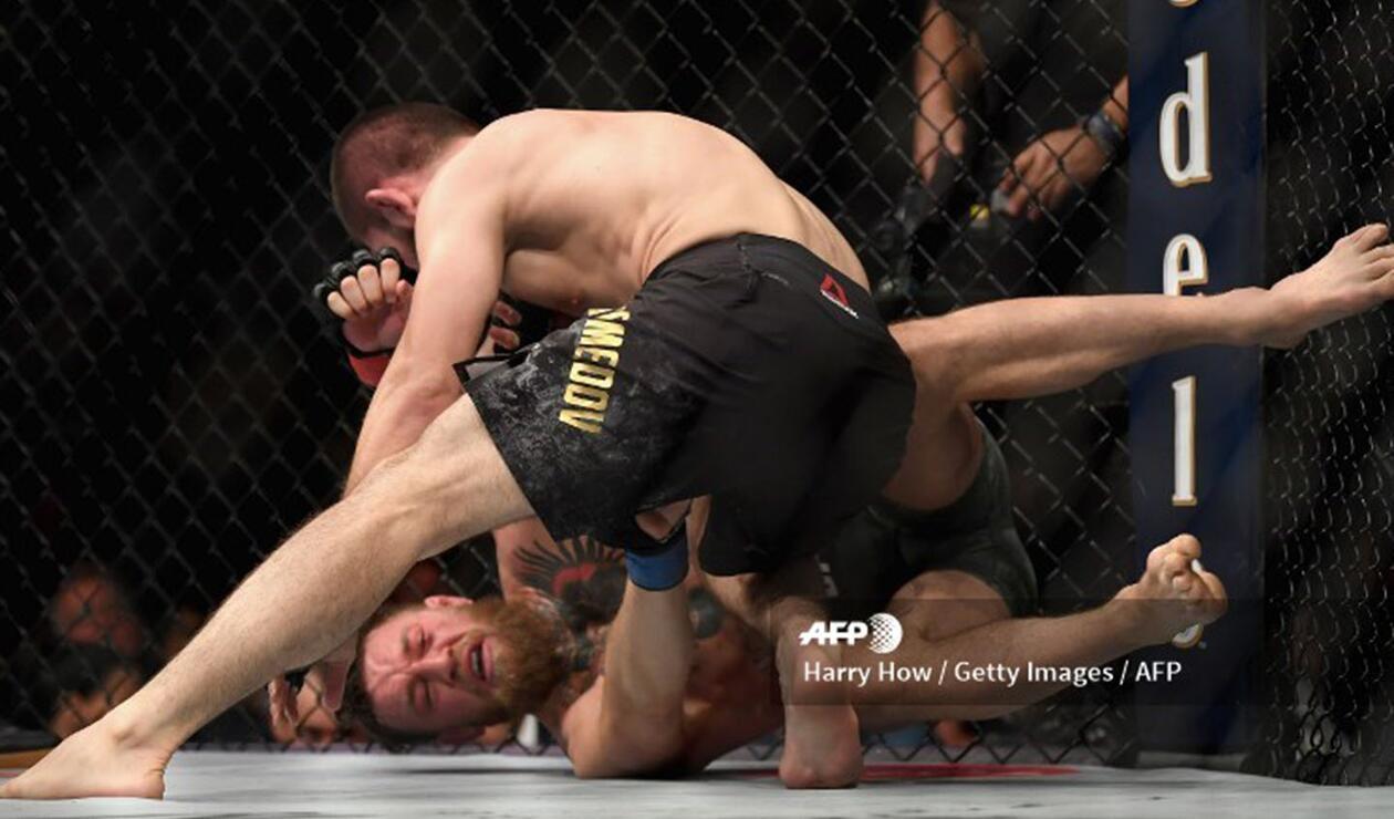 Conor McGregor vs Khabib Nurmagomedov fue tan intenso que llevó a una batalla campal