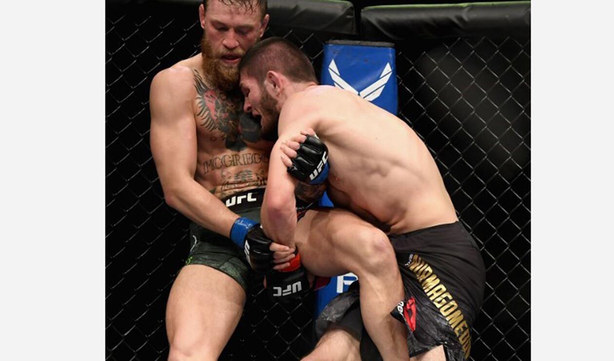 Conor McGregor vs Khabib Nurmagomedov terminó en escándalo