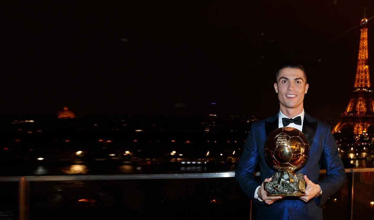 Cristiano Ronaldo, ganador del Balón de Oro 2017