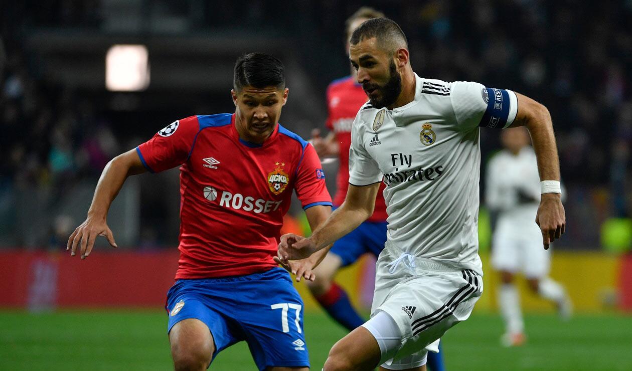 Real Madrid llegaba al partido ante CSKA de una mala racha en la liga española