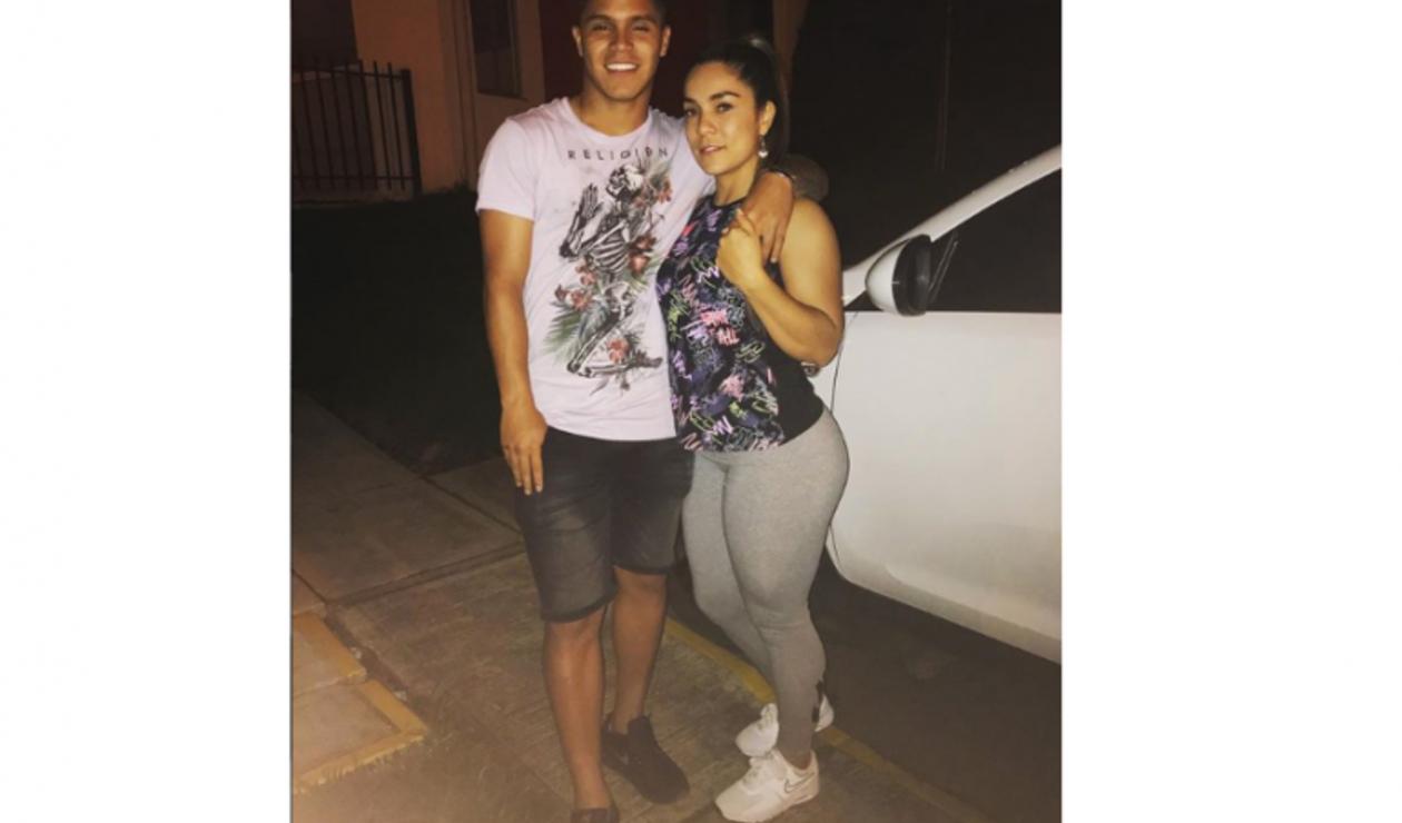 Yaneth Suárez, mamá del Cucho Hernández