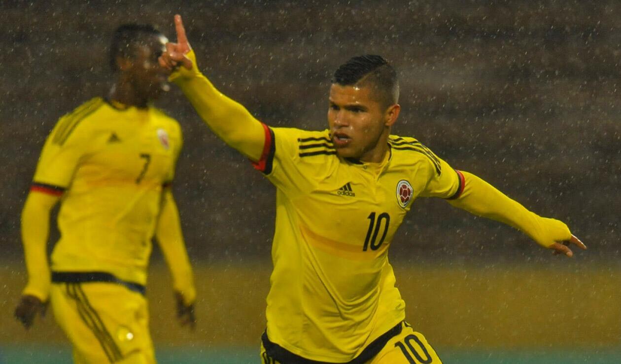 Juan Camilo 'Cucho Hernández', Selección Colombia