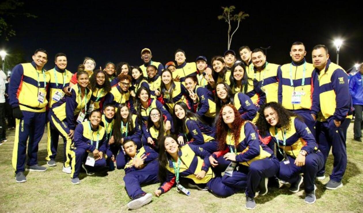 Delegación Colombiana